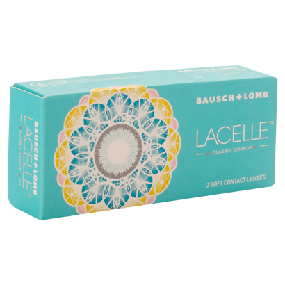 Bausch & lomb lacelle classic grande color  (2 /box)
