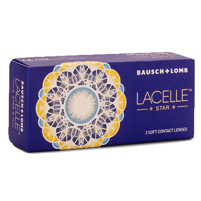 Bausch & lomb lacelle star color  (2 /box)